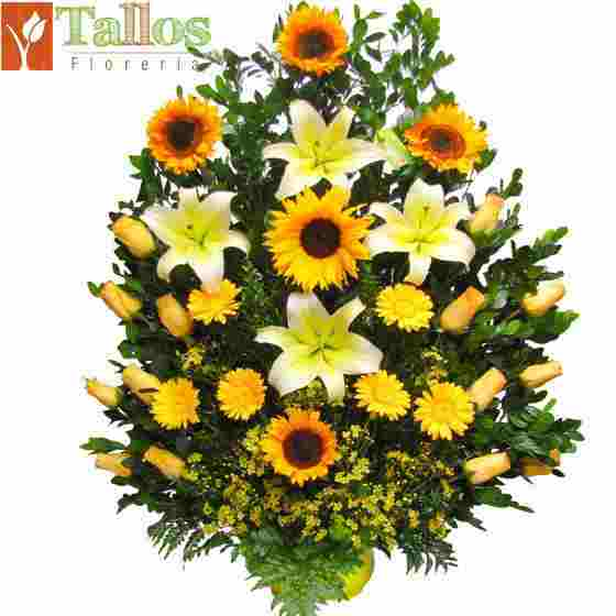 Flores amarillas, ideal para eventos